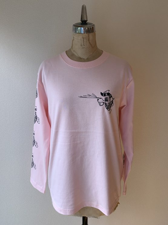 FGS×BP babypink front