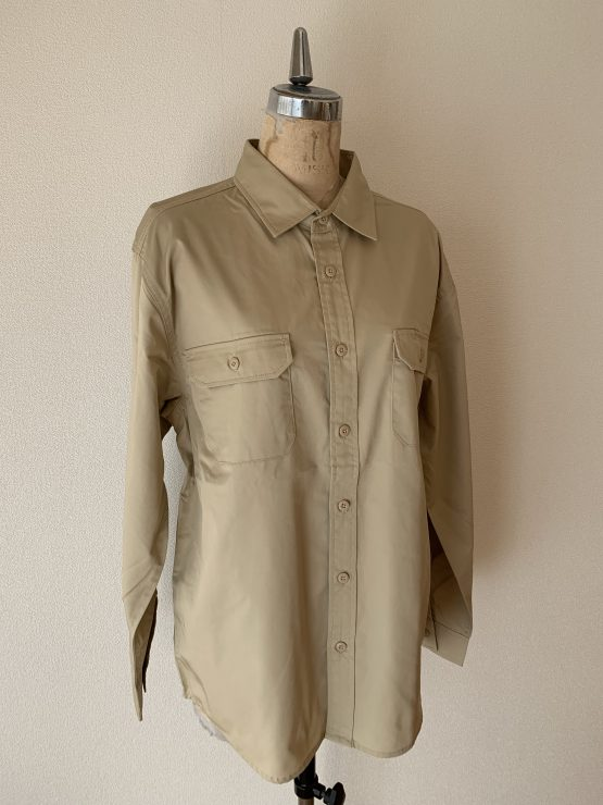 Rabbit workshirt beige front