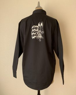 jankenrabbit workshirt black back