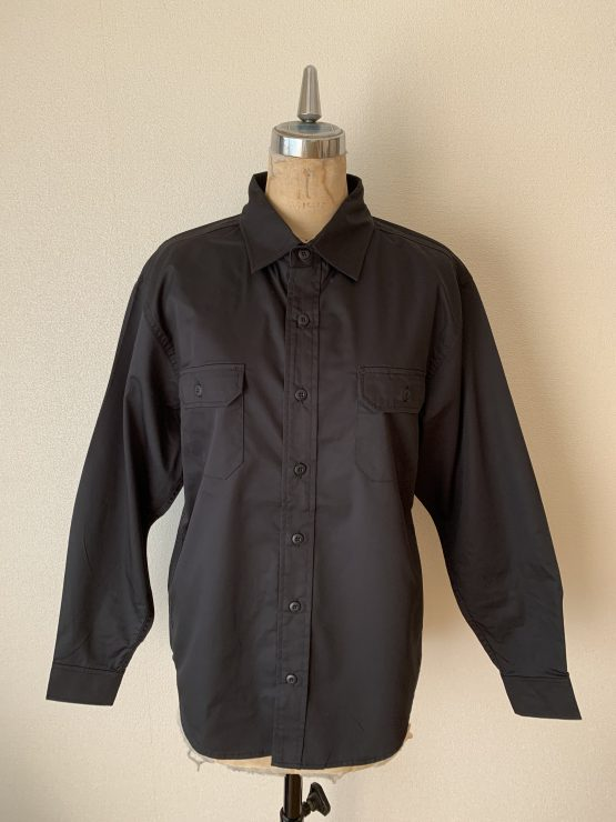 workshirt black front
